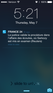 Sarkozy's legal troubles.
