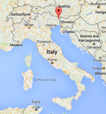 Val Resia in Italy, near the Slovenian border.