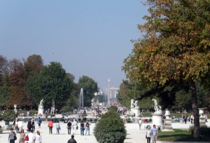 The Tuileries Garden today. Source: