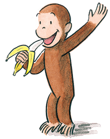 Curious George.  Picture source: http://www.curiousgeorge.com/~/media/sites/CG/Resources/Inspire_Curiosity_Kit.pdf