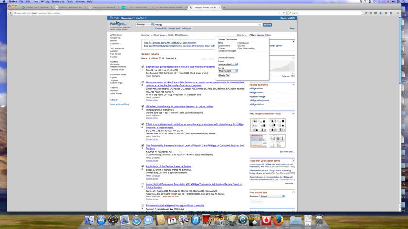 Downloading PubMed/MEDLINE abstracts in a format the Pubmed.mineR can deal with. Photo source: Ramachandran.