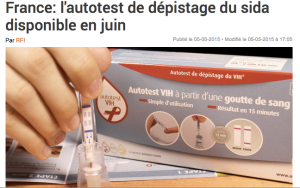 Picture source: RFI, http://www.rfi.fr/science/20150505-vih-autodepistage-diagnostic-sida-pharmacies.