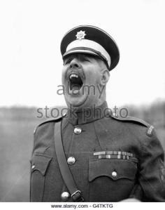 military-regimental-sergeant-major-ronald-brittain-mons-barracks-aldershot-g4tktg