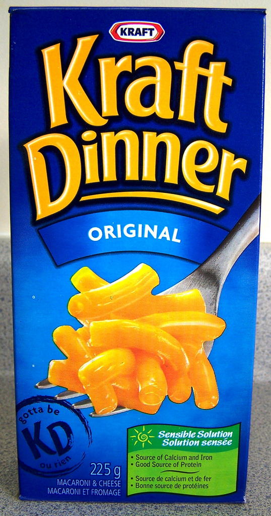 Marde…and Kraft Dinner