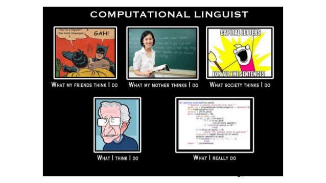 Becoming a computational linguist without double-majoring in linguistics and computerscience